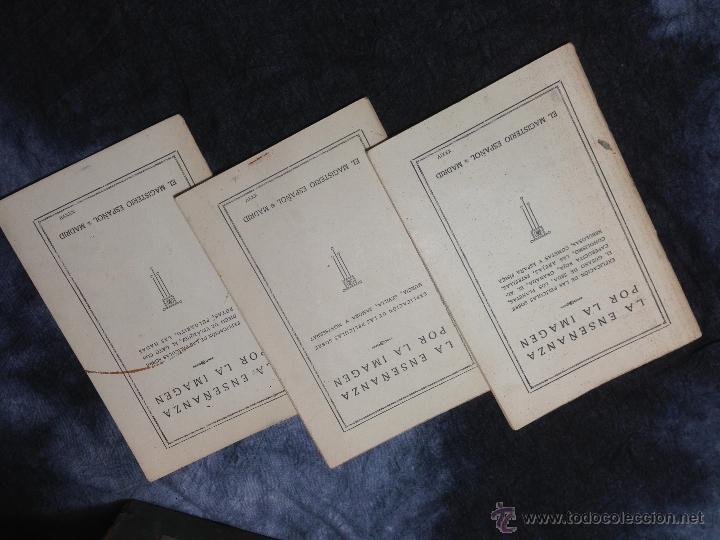 Antigüedades: RARO CINEMATÓGRAFO - LINTERNA MÁGICA LA ENSEÑANZA POR LA IMAGEN Madrid + 15 PELICULAS - Foto 27 - 54580852