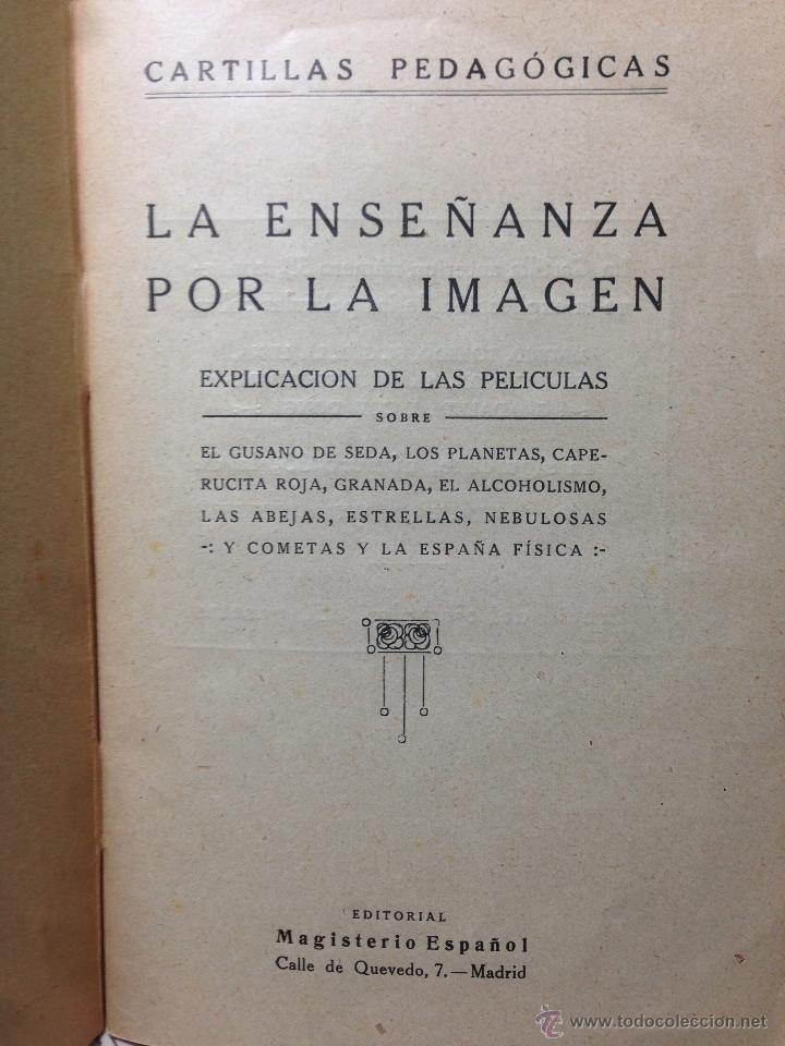 Antigüedades: RARO CINEMATÓGRAFO - LINTERNA MÁGICA LA ENSEÑANZA POR LA IMAGEN Madrid + 15 PELICULAS - Foto 31 - 54580852