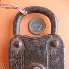 Antigüedades: CANDADO ANTIGUO. SIN LLAVE. Lote 54586159