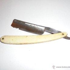 Antigüedades: FILARMONICA - ANTIGUA NAVAJA DE AFEITAR 14 - JOSE MONTSERRAT POU DOBLE TEMPLE 17,5 CM. CERRADA . Lote 54630069