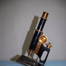 Antigüedades: MICROSCOPIO INGLES DE LA FIRMA BAUSCH & LOMB. Lote 54648069