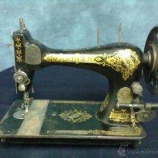 Antigüedades: CABEZA MAQUINA DE COSER SINGER DE LANZADERA. Lote 75673437
