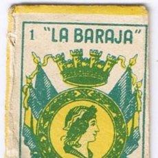 Antigüedades: FUNDA CUCHILLA HOJA AFEITAR - LA BARAJA AS 1 OROS - MARAVILLA - NO INCLUYE LA HOJA. Lote 54664024
