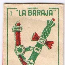 Antigüedades: FUNDA CUCHILLA HOJA AFEITAR - LA BARAJA AS 1 ESPADAS - MARAVILLA - NO INCLUYE LA HOJA. Lote 54664338