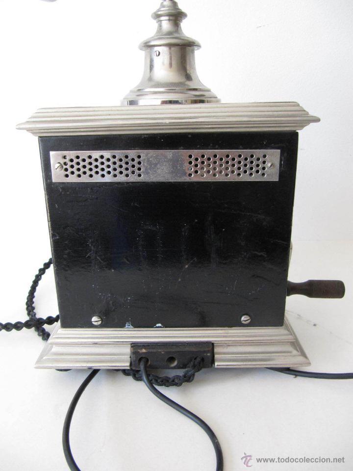 Teléfonos: IMPRESIONANTE ANTIGUO TELÉFONO MODERNISTA AÑO 1905 ERICSSON PIEZA MUSEO MUY EXCLUSIVA 485,00 € - Foto 7 - 54708153