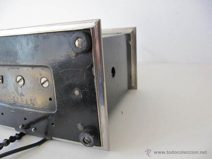 Teléfonos: IMPRESIONANTE ANTIGUO TELÉFONO MODERNISTA AÑO 1905 ERICSSON PIEZA MUSEO MUY EXCLUSIVA 485,00 € - Foto 8 - 54708153