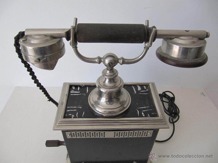 Teléfonos: IMPRESIONANTE ANTIGUO TELÉFONO MODERNISTA AÑO 1905 ERICSSON PIEZA MUSEO MUY EXCLUSIVA 485,00 € - Foto 11 - 54708153