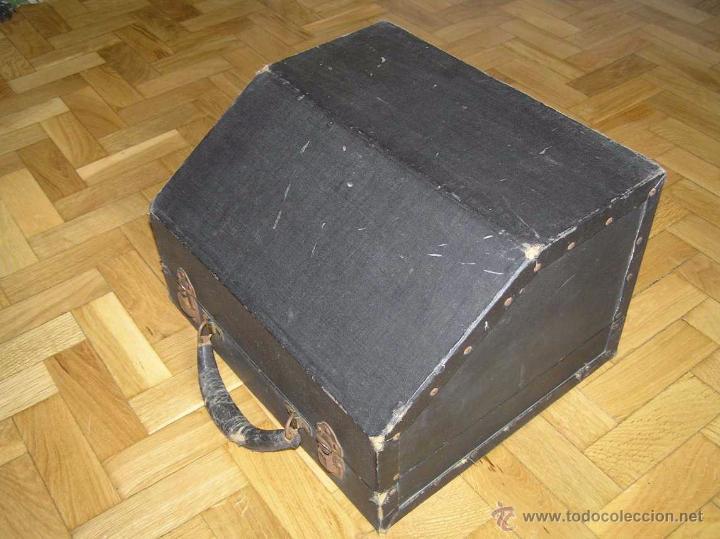 Antigüedades: ANTIGUA MÁQUINA DE ESCRIBIR MOLLE Nº 3 MOLLE TYPEWRITER COMPANY, OSHKOSH, WIS., U.S.of A. - Foto 27 - 54750428
