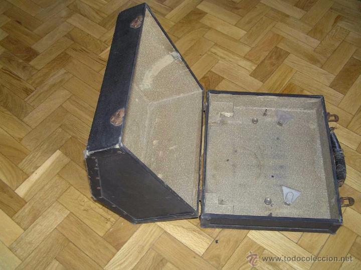Antigüedades: ANTIGUA MÁQUINA DE ESCRIBIR MOLLE Nº 3 MOLLE TYPEWRITER COMPANY, OSHKOSH, WIS., U.S.of A. - Foto 60 - 54750428