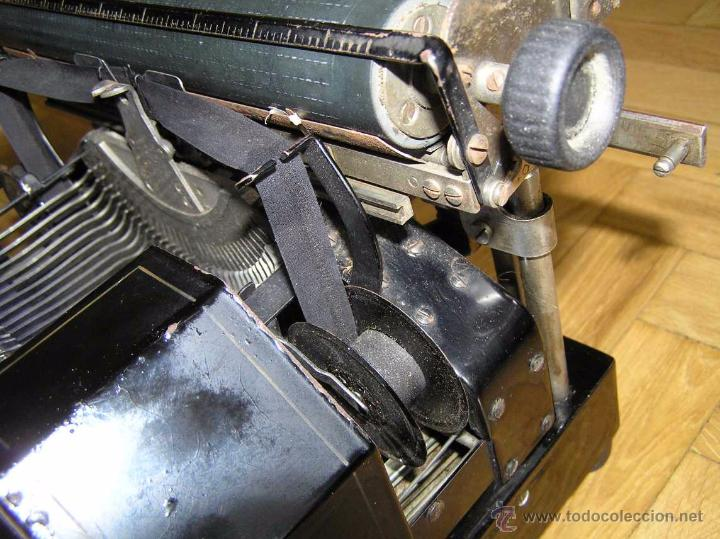 Antigüedades: ANTIGUA MÁQUINA DE ESCRIBIR MOLLE Nº 3 MOLLE TYPEWRITER COMPANY, OSHKOSH, WIS., U.S.of A. - Foto 67 - 54750428