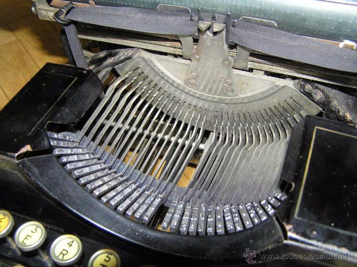 Antigüedades: ANTIGUA MÁQUINA DE ESCRIBIR MOLLE Nº 3 MOLLE TYPEWRITER COMPANY, OSHKOSH, WIS., U.S.of A. - Foto 68 - 54750428