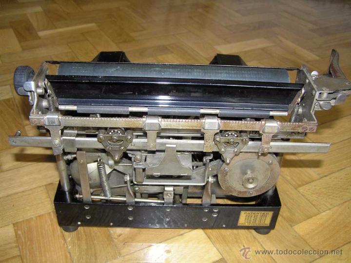 Antigüedades: ANTIGUA MÁQUINA DE ESCRIBIR MOLLE Nº 3 MOLLE TYPEWRITER COMPANY, OSHKOSH, WIS., U.S.of A. - Foto 87 - 54750428