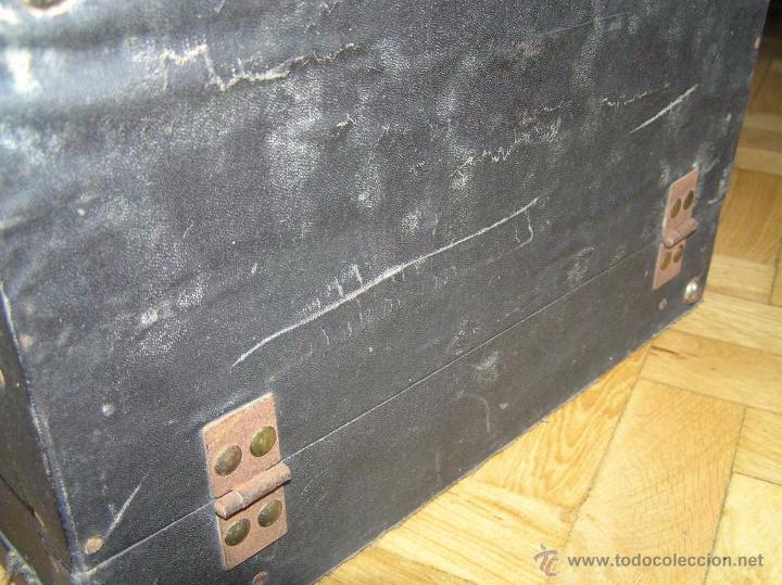 Antigüedades: ANTIGUA MÁQUINA DE ESCRIBIR MOLLE Nº 3 MOLLE TYPEWRITER COMPANY, OSHKOSH, WIS., U.S.of A. - Foto 91 - 54750428