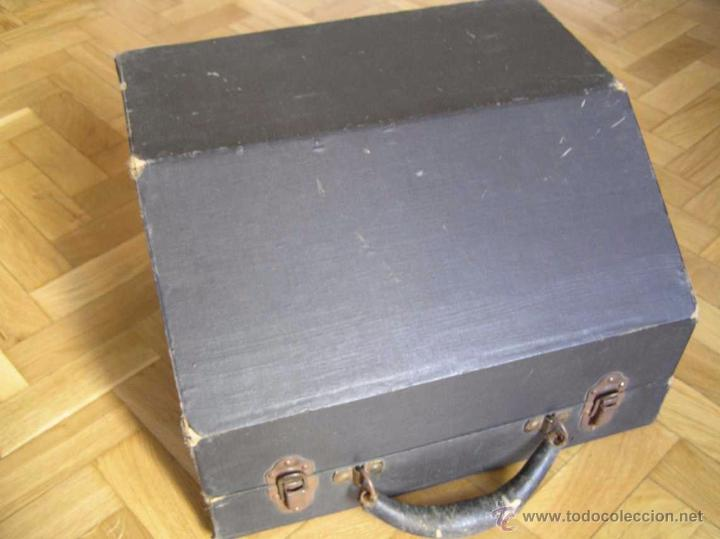 Antigüedades: ANTIGUA MÁQUINA DE ESCRIBIR MOLLE Nº 3 MOLLE TYPEWRITER COMPANY, OSHKOSH, WIS., U.S.of A. - Foto 96 - 54750428