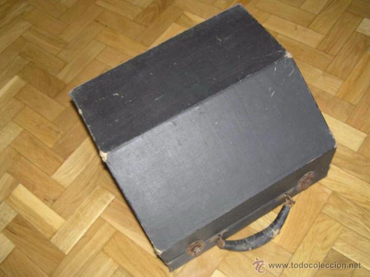 Antigüedades: ANTIGUA MÁQUINA DE ESCRIBIR MOLLE Nº 3 MOLLE TYPEWRITER COMPANY, OSHKOSH, WIS., U.S.of A. - Foto 97 - 54750428