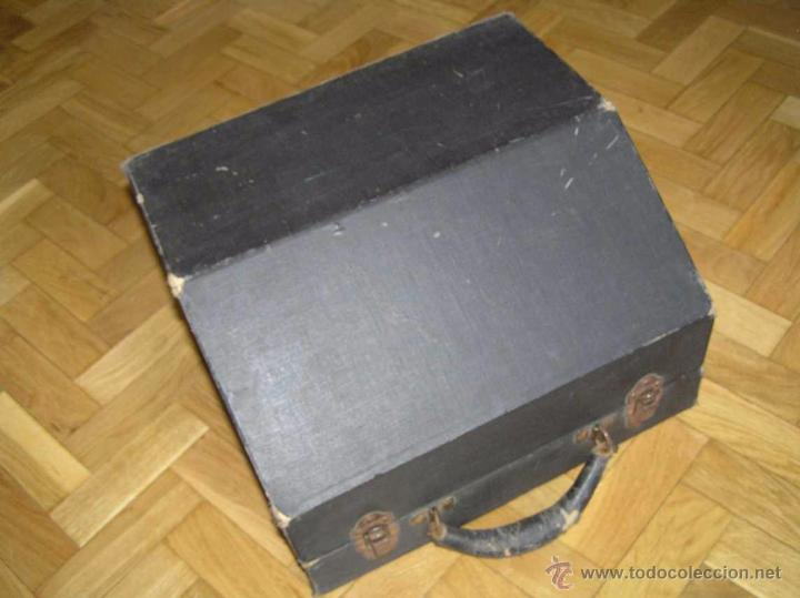 Antigüedades: ANTIGUA MÁQUINA DE ESCRIBIR MOLLE Nº 3 MOLLE TYPEWRITER COMPANY, OSHKOSH, WIS., U.S.of A. - Foto 98 - 54750428