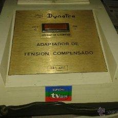 Antigüedades: ANTIGUO TRANSFORMADOR DYNATRA. Lote 54751526