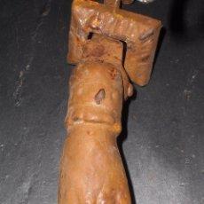 Antiquitäten - Antiguo llamador hierro mano de fátima. - 54772238
