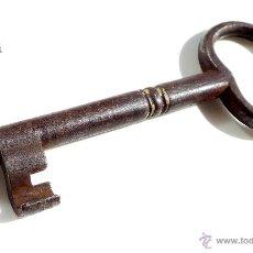 Antigüedades: PRECIOSA LLAVE DE FORJA , BONITA FORMA, 10,8 CM. Lote 54785248
