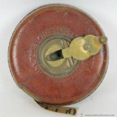 Antigüedades: CINTA METRICA DE 10 METROS. CONSTANTIA. CHESTERMAN. SHEFFIELD. ENGLAND. SIGLO XX.. Lote 51476008