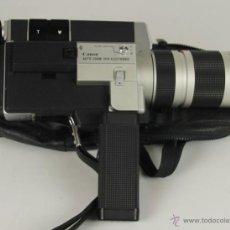 Antigüedades: CAMARA FILMADORA SUPER 8 MARCA CANON MODELO 1014 ELECTRONIC. FUNDA ORIGINAL. 1972.. Lote 51060412