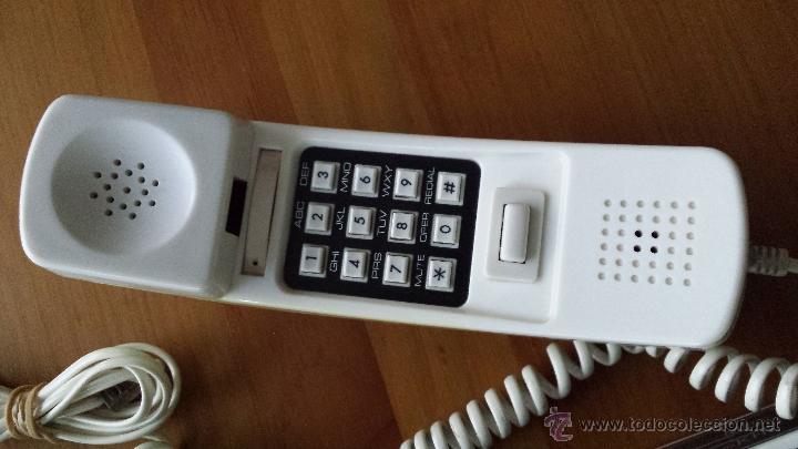 Teléfonos: RADIO TELÉFONO DESPERTADOR HITACH PH 101. FUNCIONANDO. RELOJ. - Foto 4 - 54837021