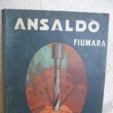Antigüedades: ANSALDO FIUMARA. Nº 61. UTENSILI A FORARE E FRESARE. Lote 54850993