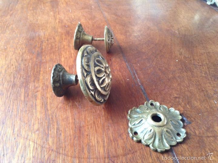 Antigüedades: Tiradores bronce y regalo - Foto 4 - 54852973