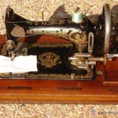 Antiquités: ANTIGUA Y EXQUISITO MAQUINA DE COSER, MARCA FRISTER & ROSSMAN, CLEOPATRA, FUNCIONA Y COSE, C. 1920. Lote 54853016
