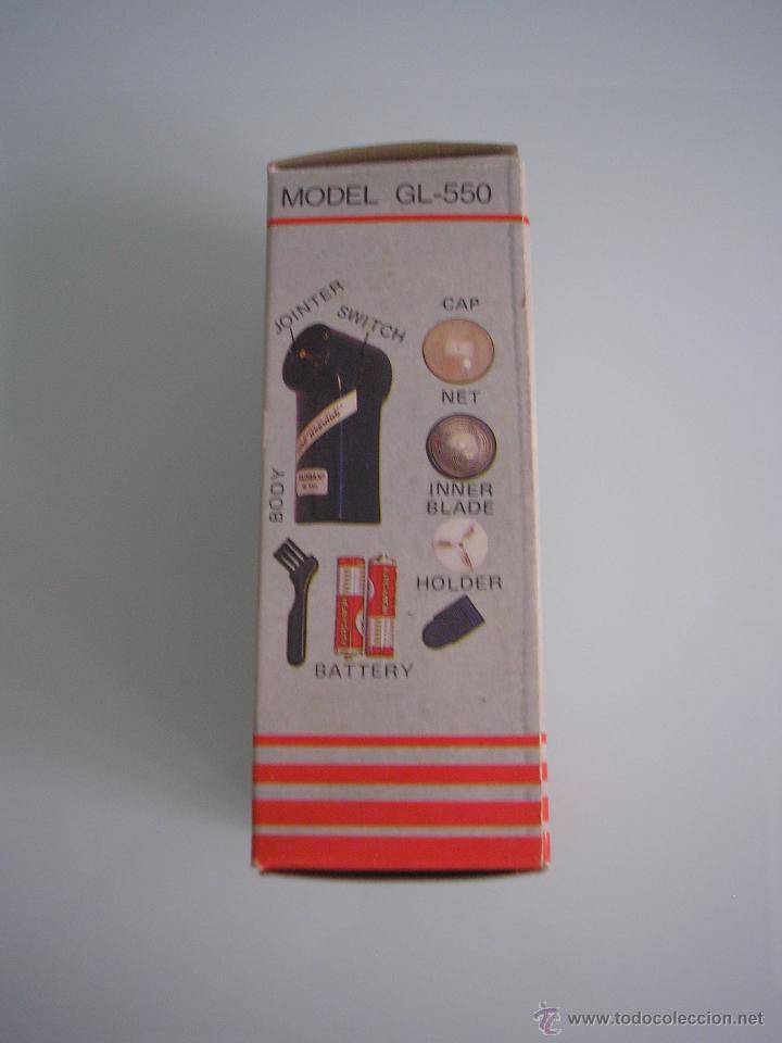 Antigüedades: Máquina de afeitar Electric Shaver Globax Modelo GL-550 con batería - Vintage - Foto 3 - 54921023