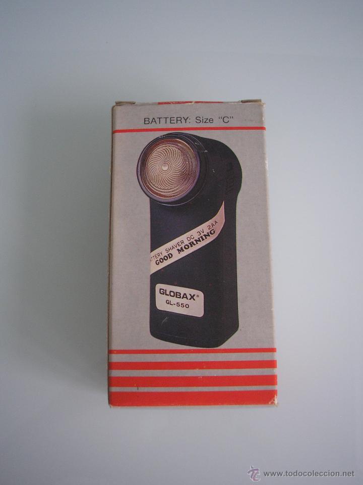 Antigüedades: Máquina de afeitar Electric Shaver Globax Modelo GL-550 con batería - Vintage - Foto 4 - 54921023