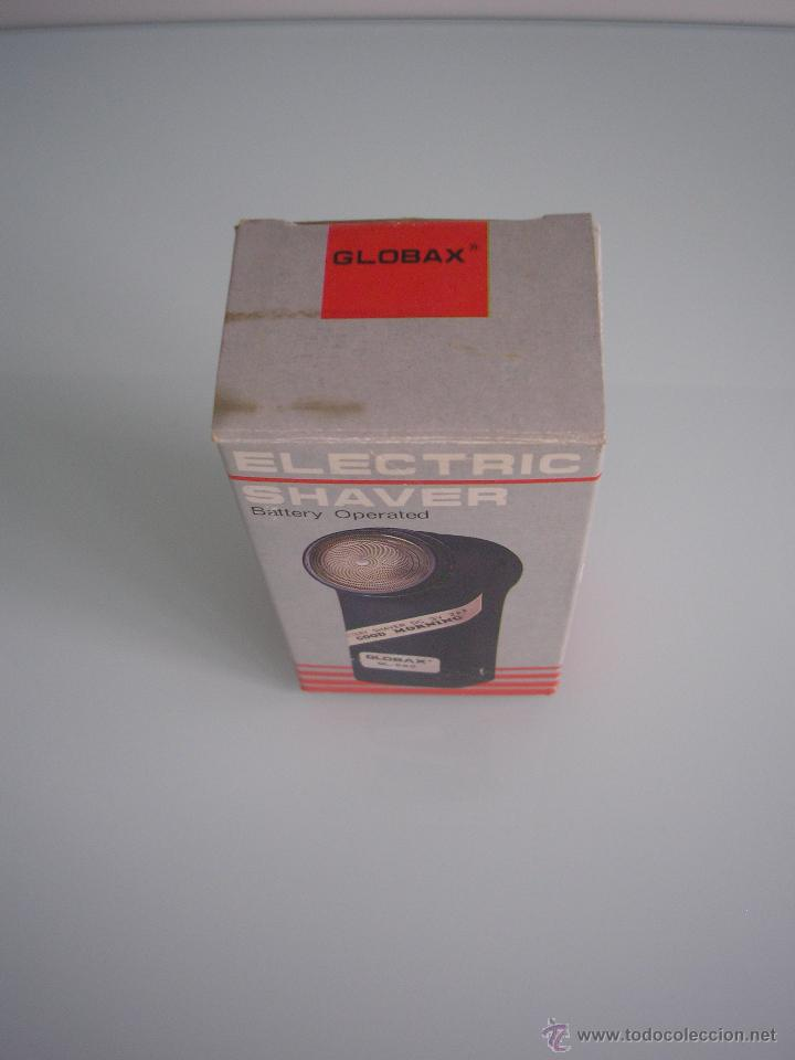 Antigüedades: Máquina de afeitar Electric Shaver Globax Modelo GL-550 con batería - Vintage - Foto 6 - 54921023
