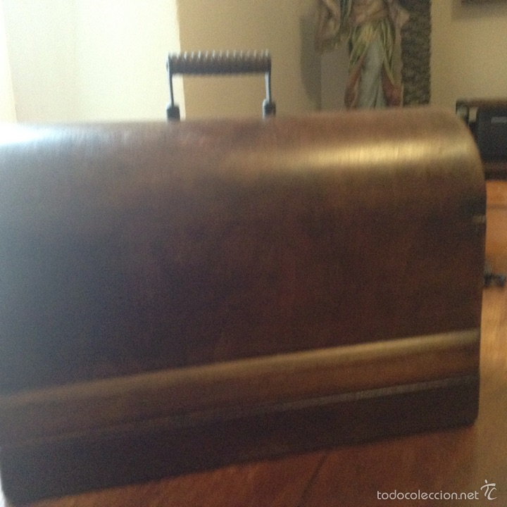 Antigüedades: Maquina de coser Singer 1925, n 28 y regalo - Foto 9 - 54929940