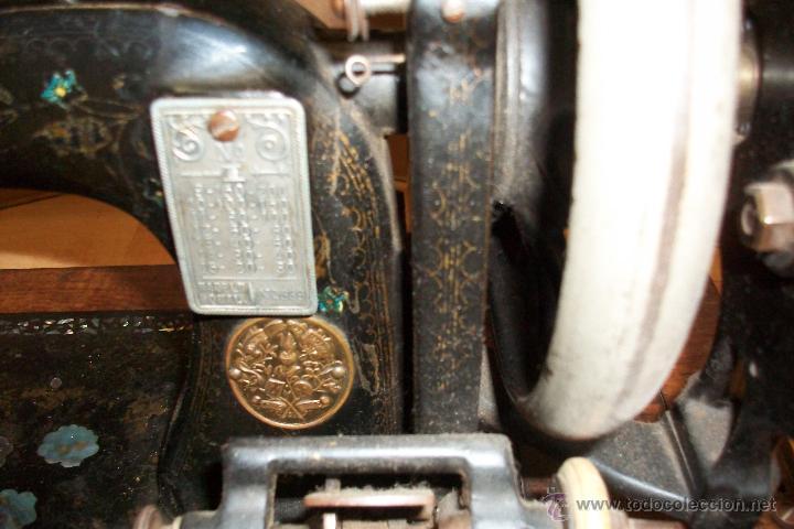 Antigüedades: ANTIGUA MAQUINA DE COSER UNICUM - Foto 2 - 54983282