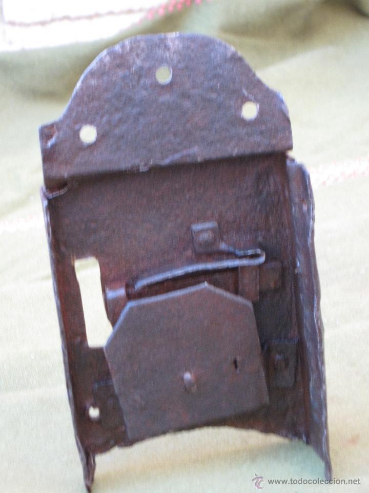 Antigüedades: CERRADURA ANTIGUA EN HIERRO FORJADO - SIGLO XVII - XVIII. - Foto 6 - 54984272
