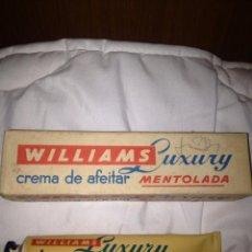 Antigüedades: CREMA DE AFEITAR WILLIAMS LUXURY. Lote 58179418