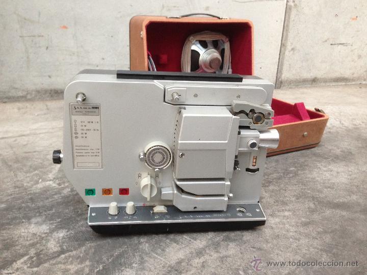 proyector de peliculas de 8 mm silma 240 s con