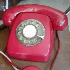 Teléfonos: TELEFONO ROJO AÑOS 60. Lote 54982112