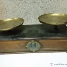 Antigüedades: BALANZA, BASCULA DE PLATOS . Lote 55019042