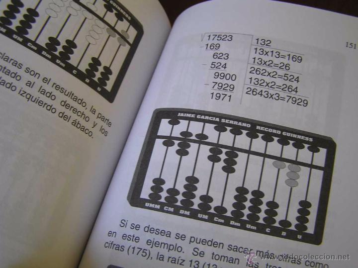 Antigüedades: MANUAL DEL ÁBACO Y ÁBACO - CALCULADORA - - Foto 14 - 45513078