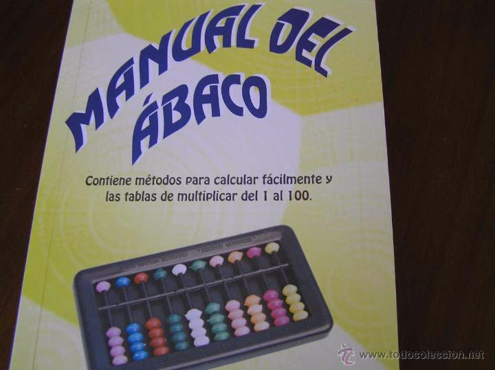Antigüedades: MANUAL DEL ÁBACO Y ÁBACO - CALCULADORA - - Foto 22 - 45513078