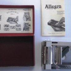 Antigüedades: AFILADOR DE CUCHILLAS ALLEGRO. MODELO L.. Lote 55028115