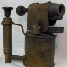 Antigüedades: SOPLETE GASOLINA - SERROT - ESPAÑA BARCELONA - PARA RESTAURAR.. Lote 55040389