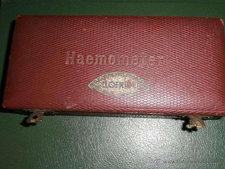 HAEMOMETER DE ANTIGUO MÉDICO - (Antigüedades - Técnicas - Herramientas Profesionales - Medicina)