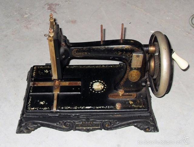 MÁQUINA DE COSER ORIGINAL (Antigüedades - Técnicas - Máquinas de Coser Antiguas - Otras)