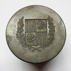 Antigüedades: SELLO-MATRIZ MUY ANTIGUO DEL AYUNTAMIENTO DE FIGUERAS (GIRONA). Lote 55122177