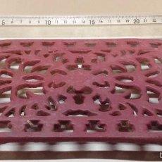 Antigüedades: BONITO POSA PLANCHA DE HIERRO (K). Lote 55141931