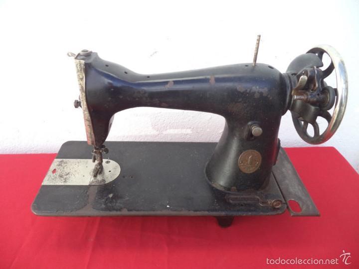 CABEZA DE MAQUINA DE COSER (Antigüedades - Técnicas - Máquinas de Coser Antiguas - Singer)