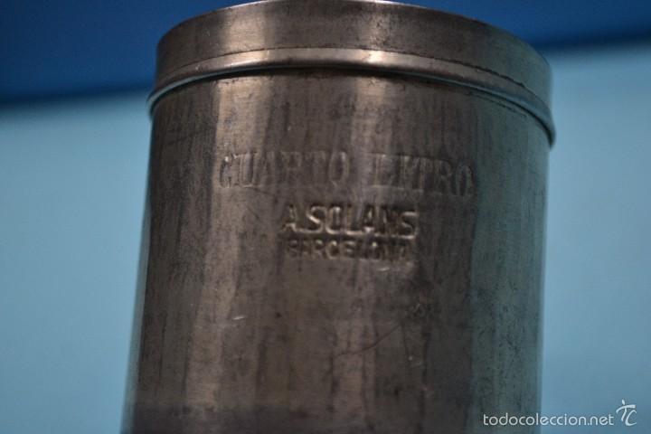 Antigüedades: ANTIGUA JARRA MEDIDA DE LIQUIDOS - Foto 3 - 55355643