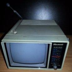 Antigüedades: TELEVISION PORTATIL ANTIGUA. Lote 55373539